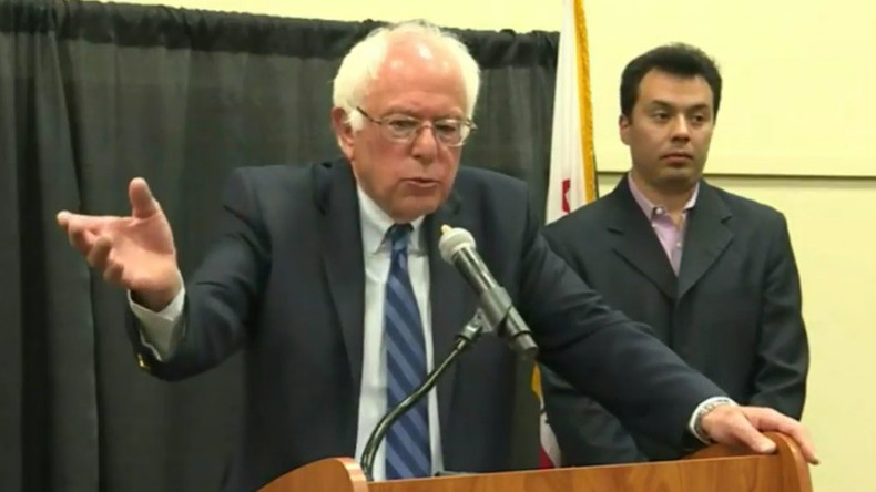 Sanders talks 'undrinkable' tap water, climate change ahead of California primary