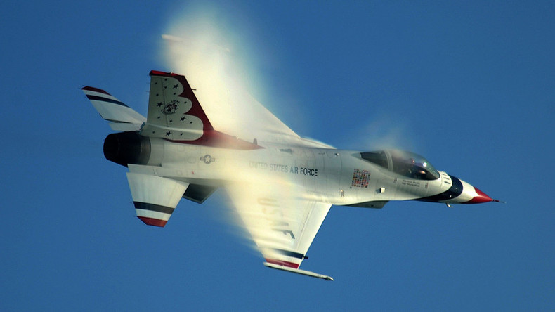 Thunderbird jet crashes just after Air Force Academy graduation flyover