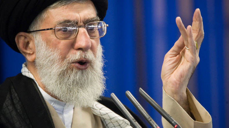 'Great Satan' USA & 'evil' Britain not to be trusted - Iran's leader