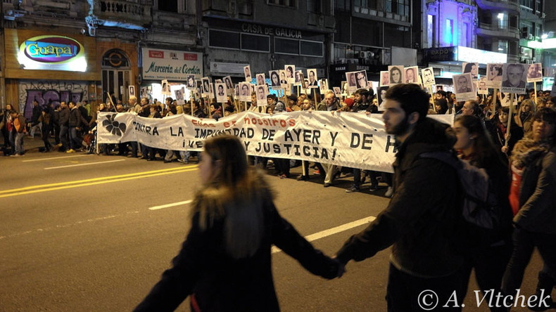'March of Silence' in Uruguay sends message of remembrance to South America