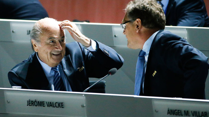 Blatter & 2 other FIFA chiefs gave each other $80mn in 'bonuses' over 5 years – internal probe