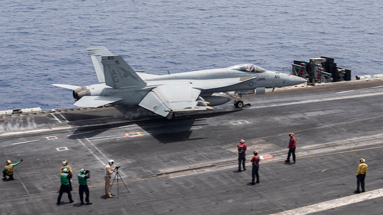 US launches airstrikes on ISIS from Mediterranean, for 1st time since Iraq War