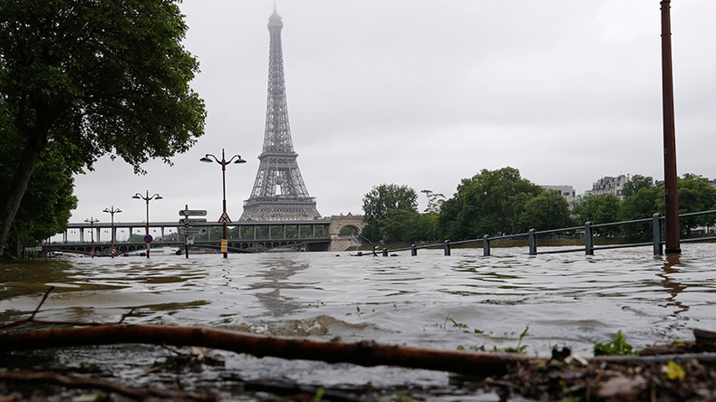 Paris underwater: Tourists and residents brave floods around French capital (PHOTOS, VIDEOS)