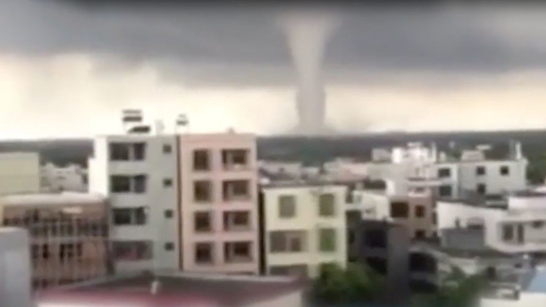 Tornado rips through China's Hainan Province (VIDEO)