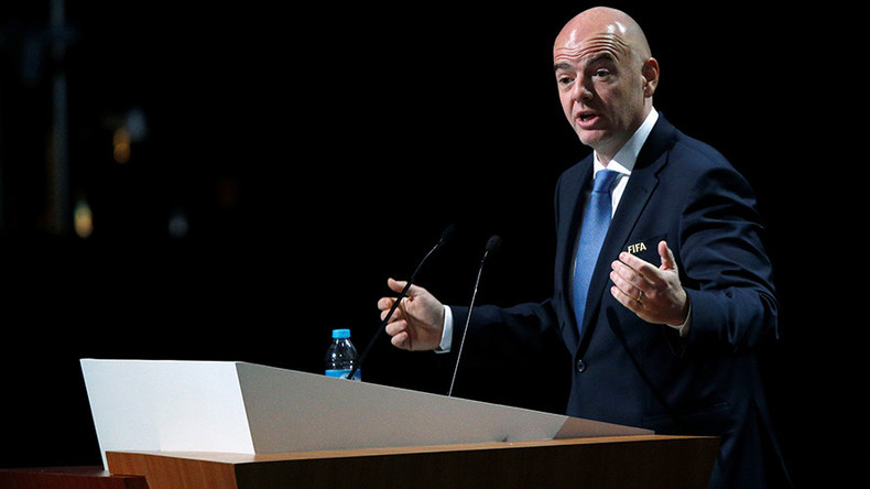 FIFA's Infantino strikes back at critics, denies corruption allegations