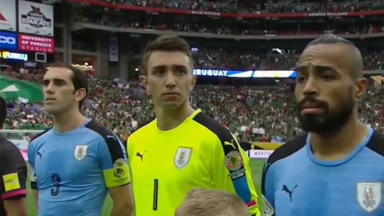 Song fail! Organizers play Chile national anthem for Uruguay team at Copa America (VIDEO)