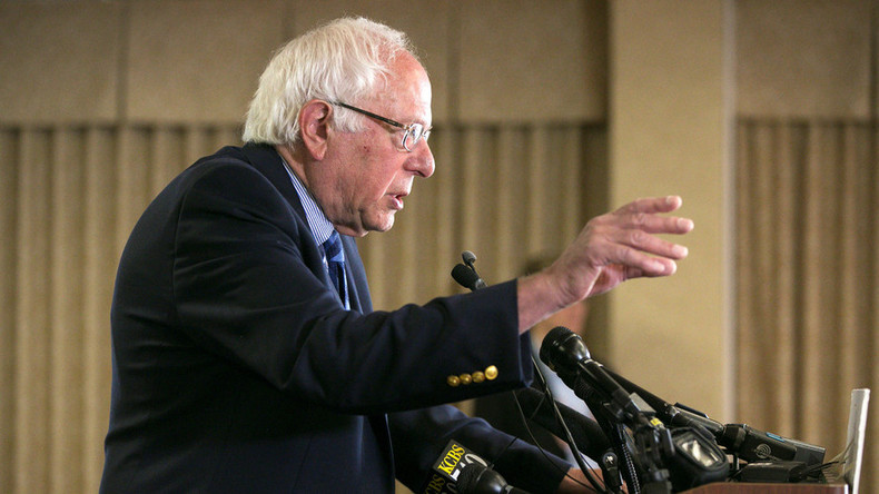Sanders hopes for California win to stop 'bigot' Trump, as White House said to back Clinton