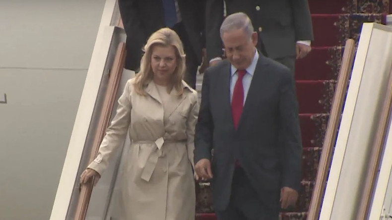 Netanyahu arrives in Moscow for talks with Putin (VIDEO)