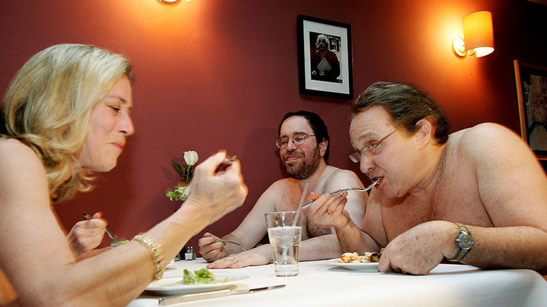Bums on seats: London's first 'naked restaurant' open for business