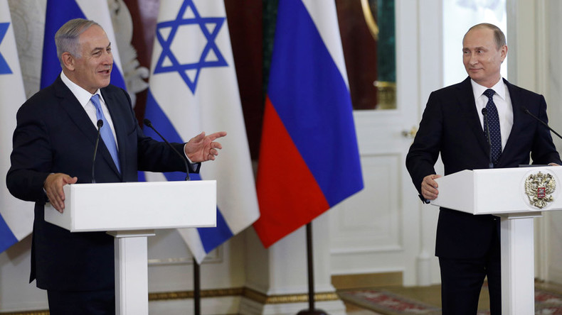 Netanyahu invites Russia to develop Israel's gas fields