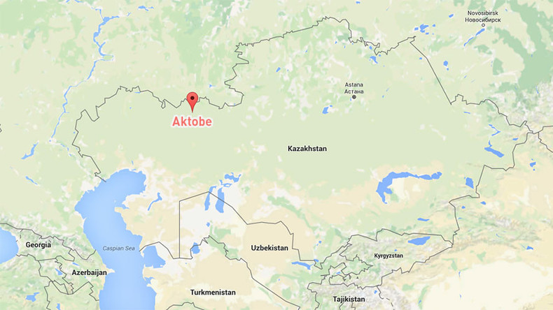 Live rounds fired at kids summer camp in Kazakhstan's west