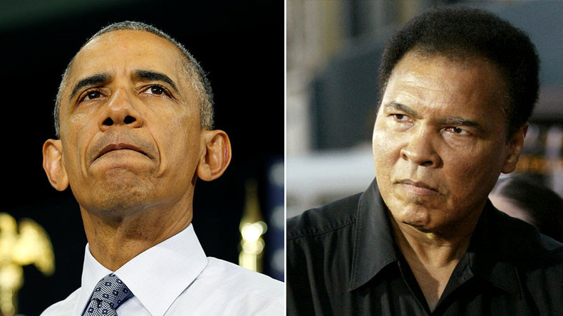 Obama won't attend Muhammad Ali funeral