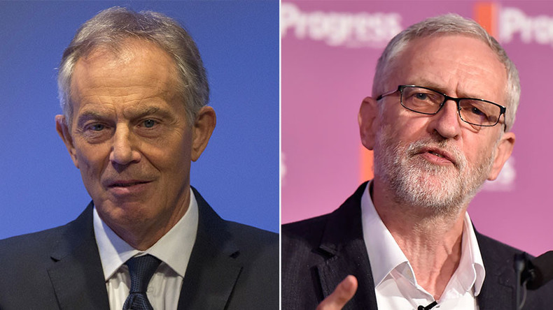 Weeks before Chilcot, Tony Blair scolds Jeremy Corbyn for not backing UK bombing of Syria