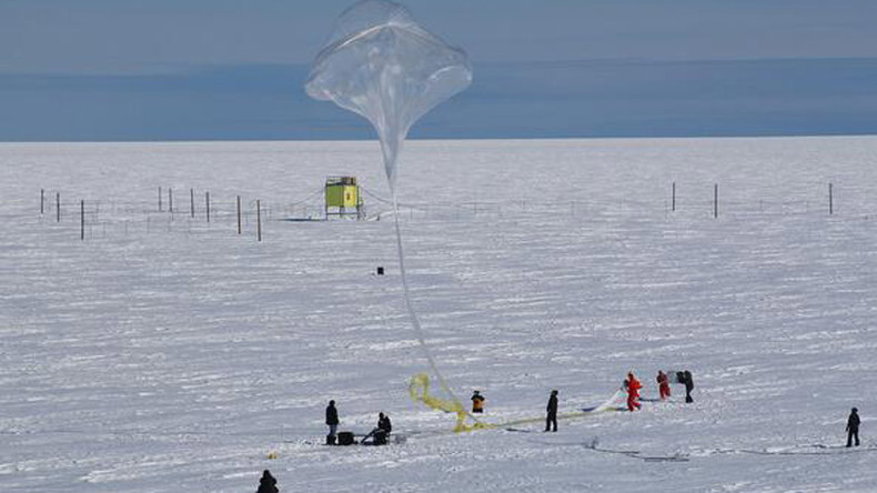 NASA uses balloons to map Earth's magnetic field