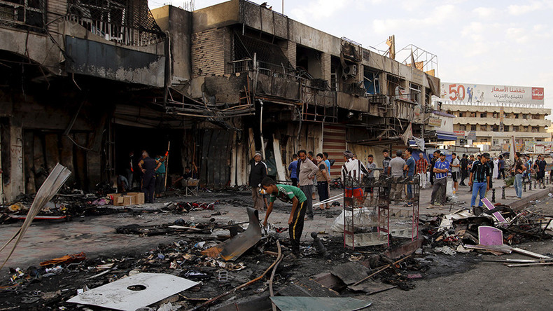 Over 30 killed, dozens injured as car bomb blasts rock Baghdad (PHOTOS, VIDEO)