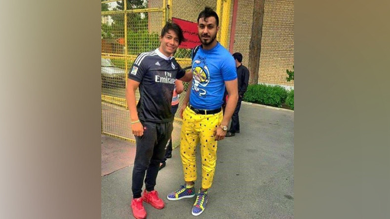 Iranian soccer star banned for wearing yellow 'SpongeBob' pants