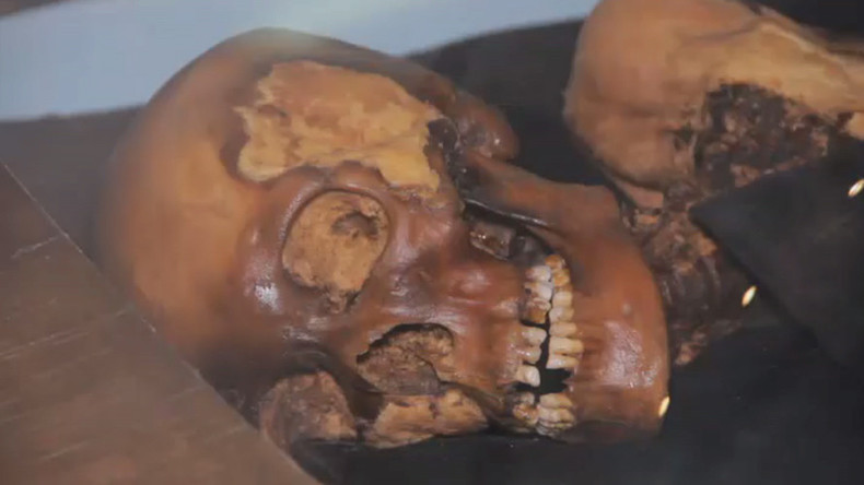 Display of doom? 'Cursed' mummy returns to Siberia for exhibition (VIDEO)