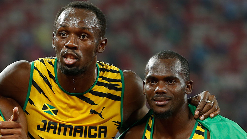 Usain Bolt & Jamaica relay sprinters could lose Beijing gold after teammate 'fails B sample test'