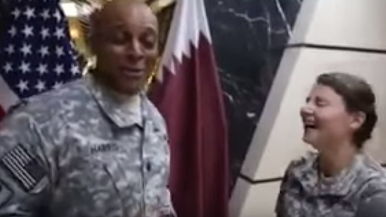 Qatar summons US ambassador over video with soldiers laughing at national flag