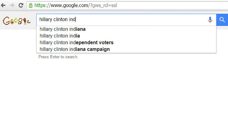 Did Clinton's campaign boost her image with a Google bomb?