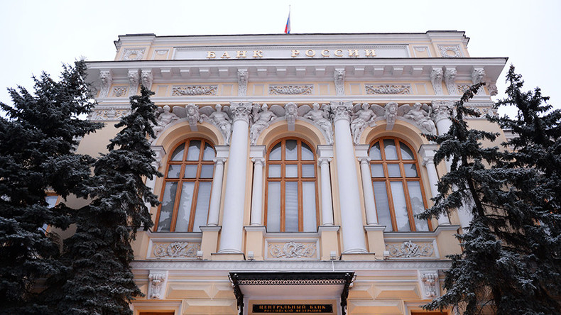 Russian central bank slashes key rate for first time in almost a year