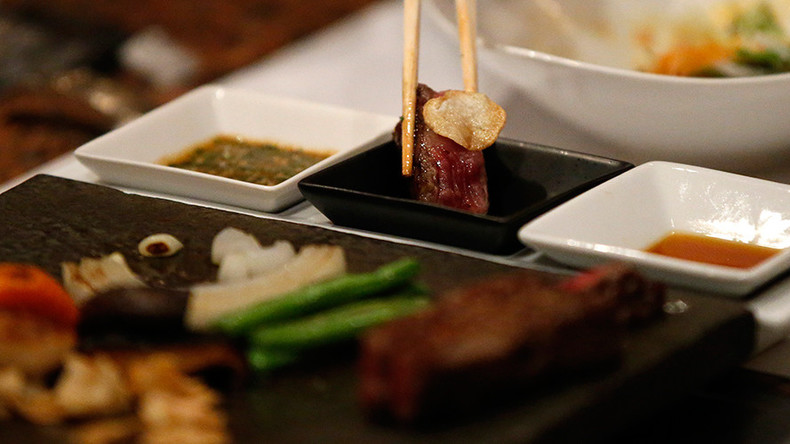 Weight-er! Japan's first naked restaurant rejects overweight diners