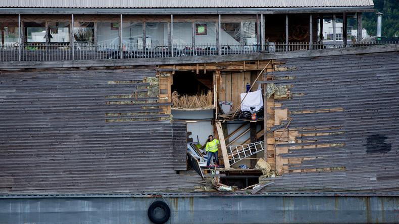 Biblical collision: Noah's Ark crashes into Norwegian coast guard ship (VIDEO, PHOTO)