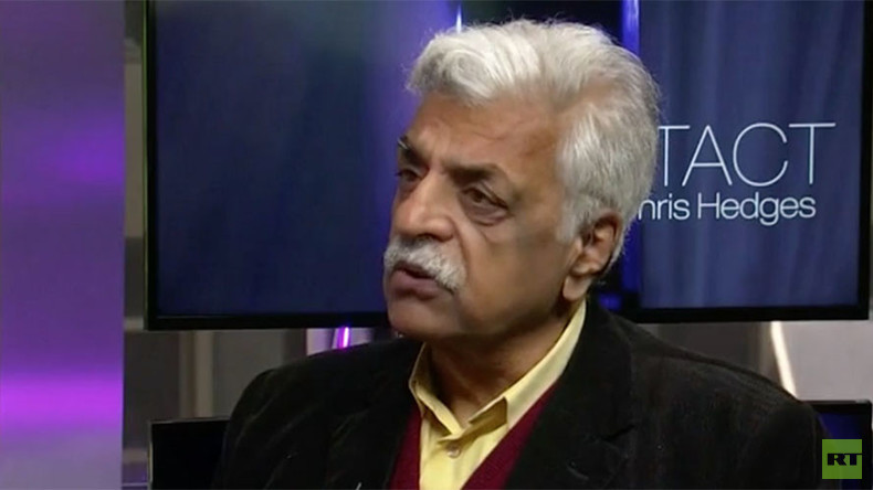Capitalism will collapse because banks & political elite 'allow poor to rot' ‒ Tariq Ali
