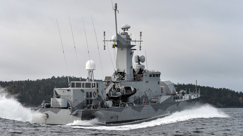 Signal from Russian sub lurking near Sweden in 2014 'came from Swedish object'