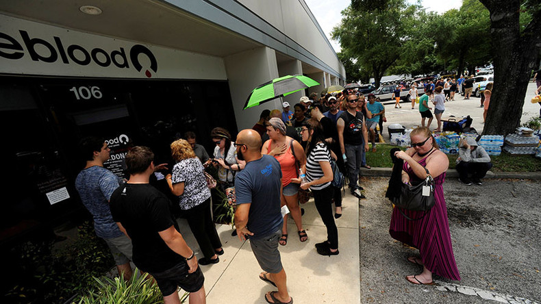 'Horrible irony': Gay men turned away from donating blood after Orlando shooting