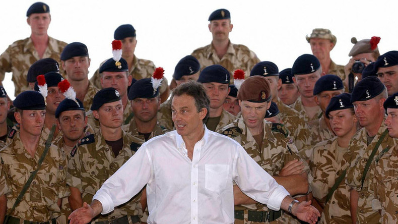 Labour could be torn apart by war crime charges for Blair over Iraq