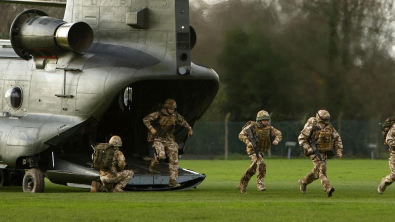 SAS, MI6 & 350 British paratroopers primed for Euro 2016 terror alert - reports