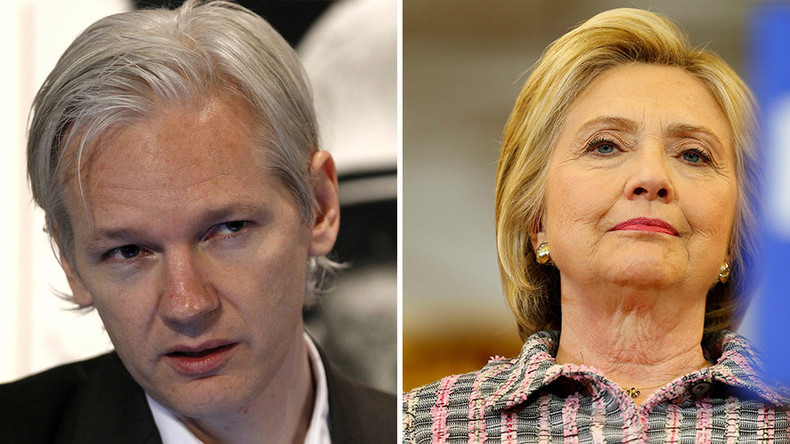 Wikileaks will publish 'enough evidence' to indict Hillary Clinton, warns Assange