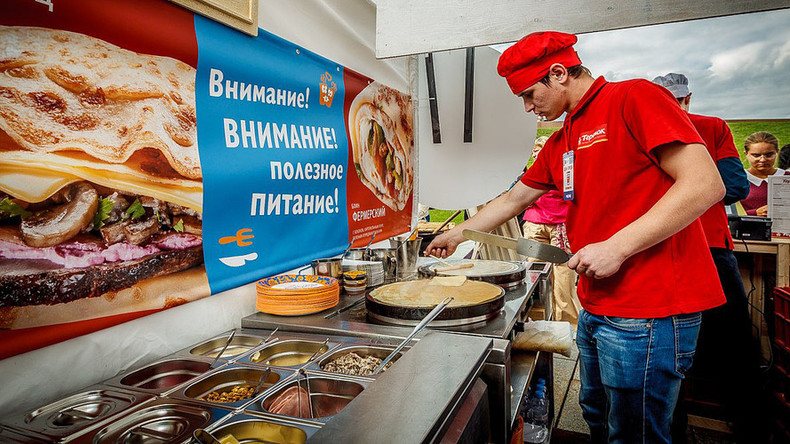 Russian pancake czar opens joint in Manhattan
