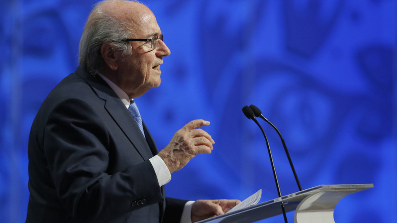 Sepp Blatter claims European draws were rigged