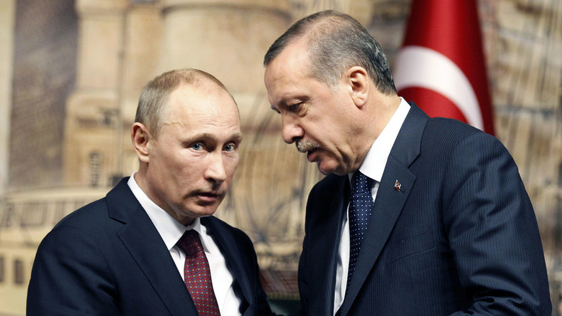 Erdogan sends Putin 'first letter' since Su-24 shot down by Turkey