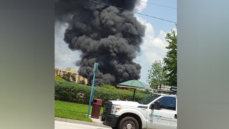 Massive fire in Orlando near Disney World (PHOTOS, VIDEOS)