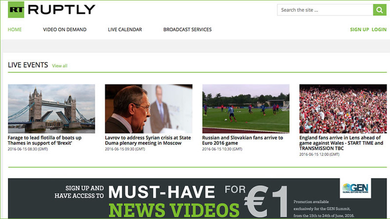 RUPTLY marks GEN Summit with new €1 video sale