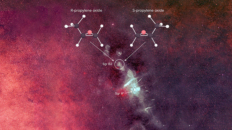 Life-forming molecule discovered in deep space may hold key to life on Earth