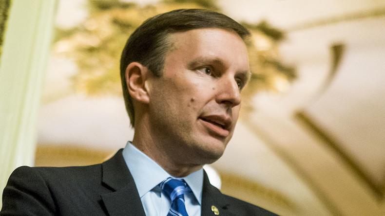 Democratic senator stages 14-hour filibuster to demand gun control vote
