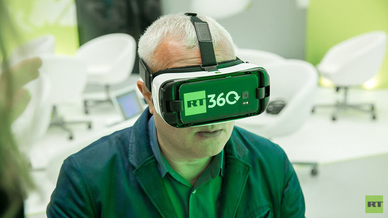 360, everyone: RT brings virtual reality to St. Petersburg Intl Economic Forum