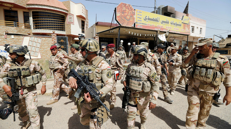 Iraqi forces enter center of Fallujah, retake govt compound from IS – state TV