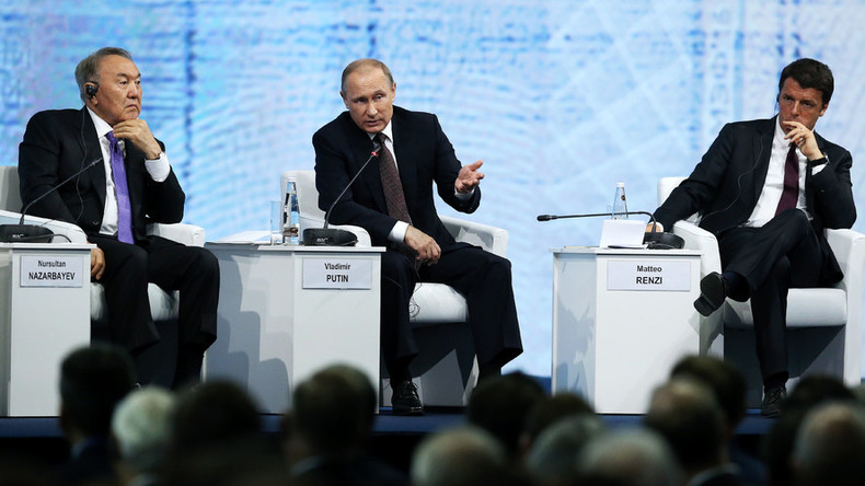 Putin calls for integration of Eurasian business