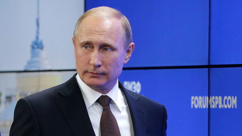 Putin urges EU to restore cooperation with Russia, says Moscow is ready to meet halfway