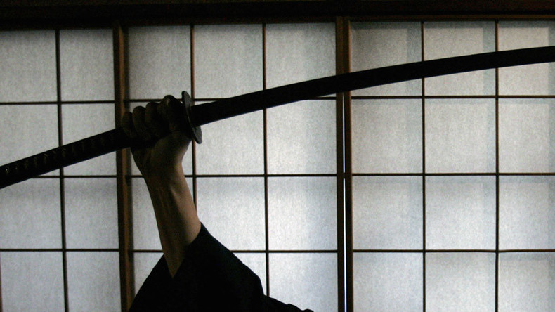 One-armed man hit in-law with samurai sword over pot dispute