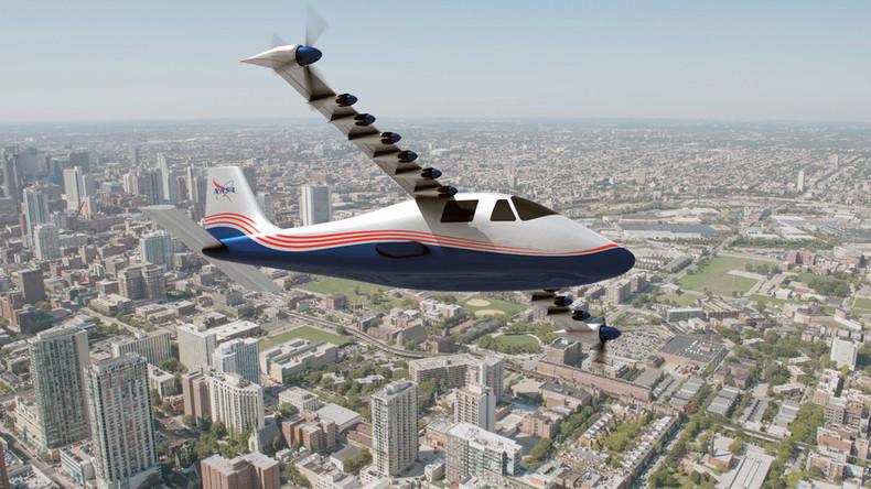 Introducing 'Maxwell': NASA reveals experimental electric X-plane (VIDEO)