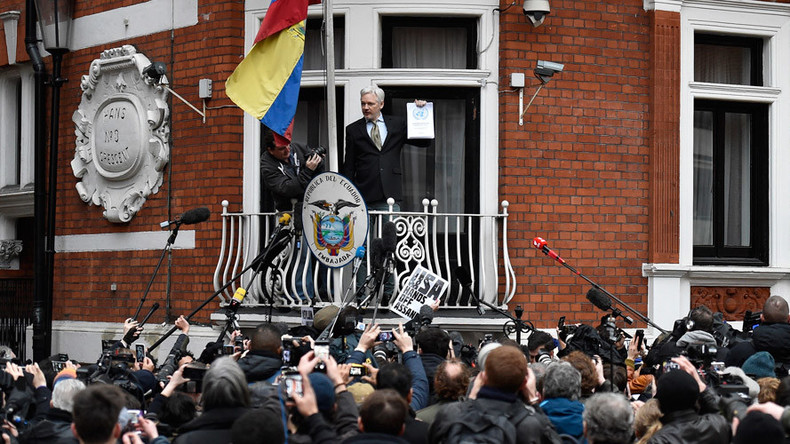 #FreeAssange: Global event calls for WikiLeaks founder freedom after 4 years of isolation