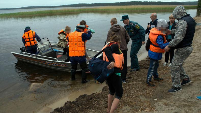 Mass drowning of children in Russia's Karelia