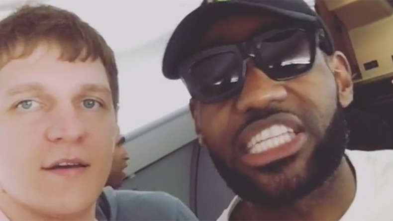 LeBron James says hi 'to Mother Russia' as Timofey Mozgov becomes 1st Russian NBA Champion