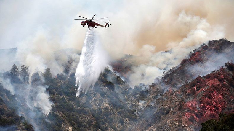 10% contained: 2 SoCal fires may combine after 5,400 acres burned, hundreds evacuated